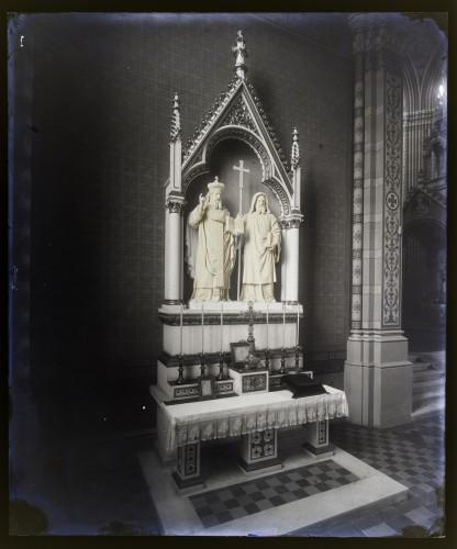 Katedrala sv. Petra (Đakovo) : Oltar svetih Ćirila i Metoda