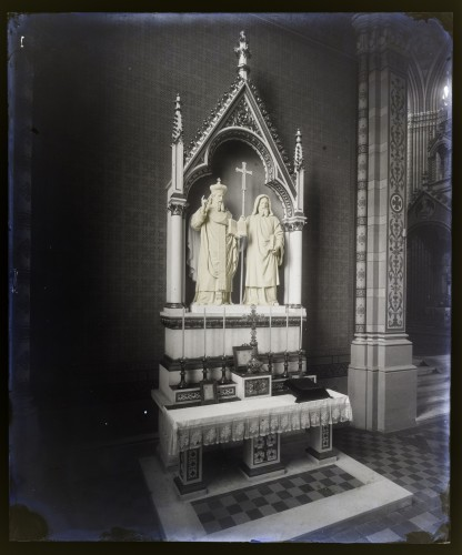 Schmidt, Friedrich von ; Donegani, Vatroslav(1836-7-28 1899-7-3): Katedrala sv. Petra (Đakovo) : Oltar svetih Ćirila i Metoda [C. Angerer & Göschl]