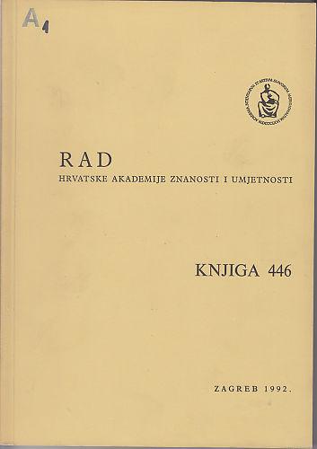 Knj. 23(1992) : RAD