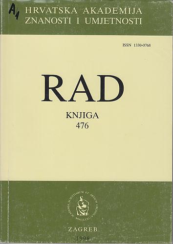 Knj. 35[36!](1998) : RAD