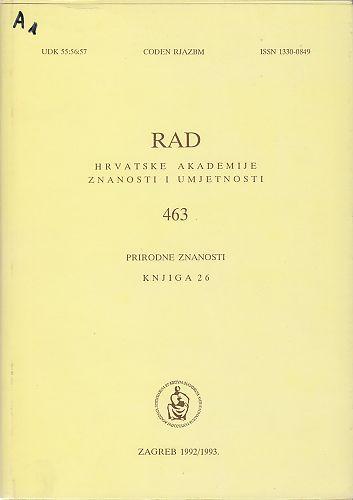 Knj. 26(1992/1993) : RAD
