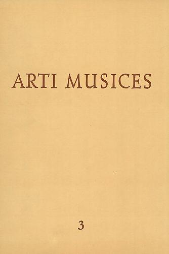 God. 3(1972) : Arti musices