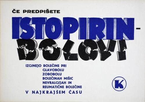 Istopirin - bolovi