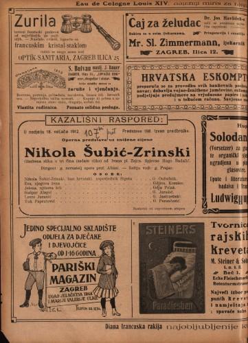 Nikola Šubić-Zrinski : Glazbena slika u tri čina (sedam slika)