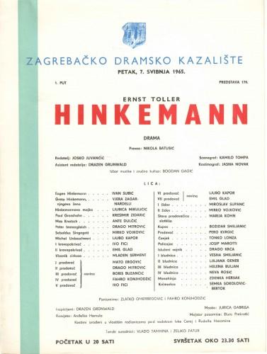 Hinkemann : Drama