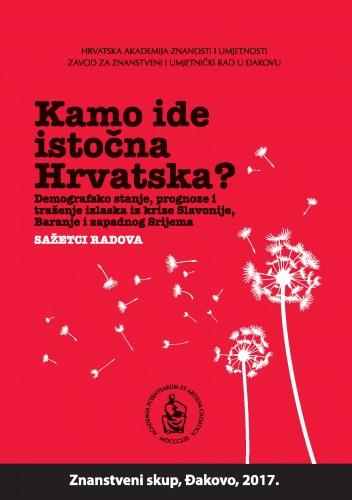 Kamo ide istočna Hrvatska? : demografsko stanje, prognoze i traženje izlaska iz krize Slavonije, Baranje i zapadnog Srijema : sažetci radova
