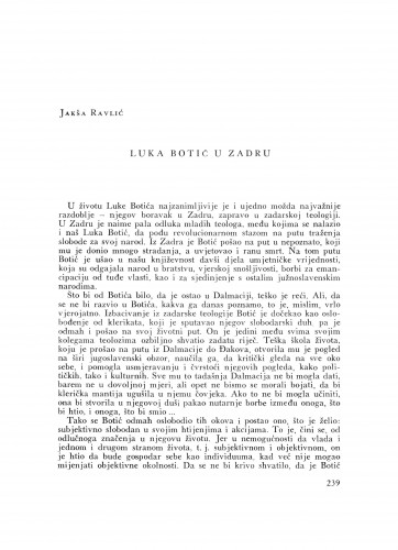 Luka Botić u Zadru