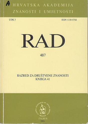 Knj. 41(2003) : RAD