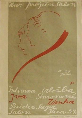 Hrvatski proljetni salon - intimna izložba Ive Simonović i Zdenke Pexider-Sieger