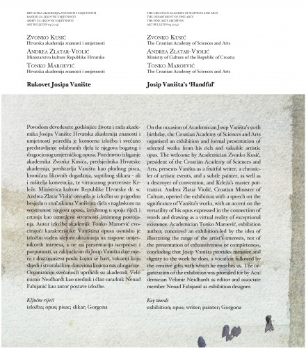 Rukovet Josipa Vanište