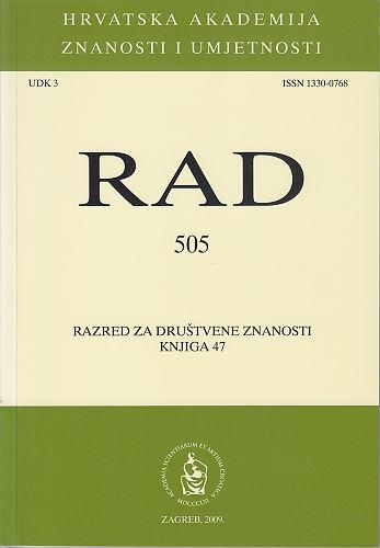 Knj. 47(2009) : RAD