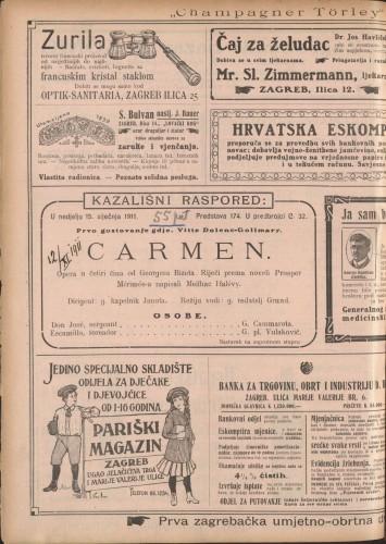 Carmen : Opera u četiri čina