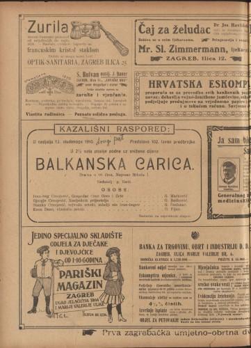 Balkanska carica Drama u tri čina