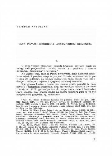 Ban Pavao Bribirski