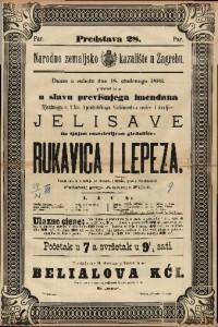 Rukavica i lepeza Vesela igra u 3 radnje / od Bayarda i Souvage-a