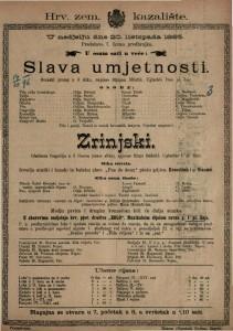 Slava umjetnosti Scenski prolog u 3 slike / napisao Stjepan Miletić