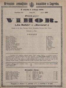 Vihor drama u tri čina  =  La Rafale - Baccarat