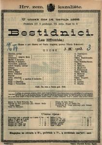 Bestidnici Gluma u pet činova / od Émila Augiera  =  Les Effrontés