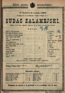 Sudac Zalamejski Gluma u tri čina / napisao Calderon de la Barca