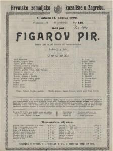 Figarov pir vesela igra u pet činova / od Beaumarchaisa