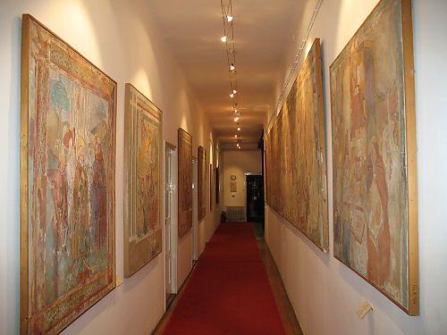 Zbirka kopija fresaka od XI do XVI st.
