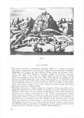 Bilješka o Boškovićevom zavičaju : Bulletin Odjela VII. za likovne umjetnosti Jugoslavenske akademije znanosti i umjetnosti