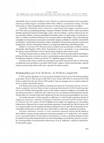 Povijesni prilozi, god. 29, br. 38 - br. 39, Zagreb 2010. : [prikaz] : Zbornik Odsjeka za povijesne znanosti Zavoda za povijesne i društvene znanosti Hrvatske akademije znanosti i umjetnosti
