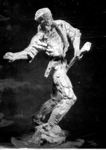 Radauš, Vanja (1906-1975) : Bombaš - skica