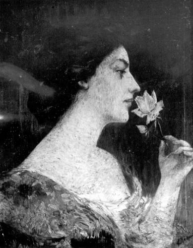 Medović, Mato Celestin (1857-1920) : Portret gđe Leppe