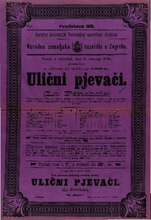 Ulični pjevači (La Périchole) Šaljiva opera u 3 čina
