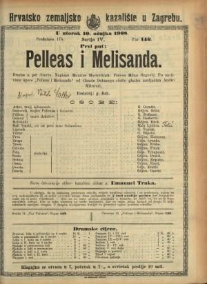 Pelleas i Melisanda Drama u pet činova