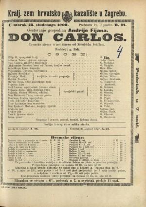 Don Carlos Dramska pjesan u pet činova