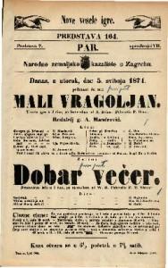 Mali vragoljan : Vesela igra u 3 čina / po francezkom od A. Bahna