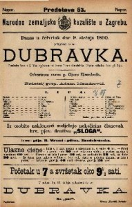 Dubravka Pastirska igra u 3 čina / spjevana od Ivana Frana Gundulića