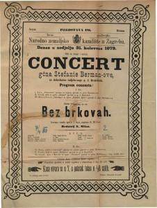 Bez brkovah izvorna vesela igra u 1 činu / napisao N. Milan