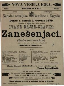 Zanešenjaci vesela igra u 4 čina / napisao Jul. Rosen  =  Grössenwahn