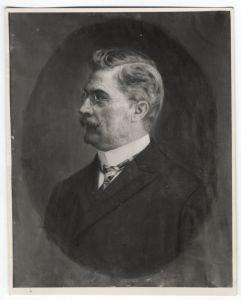 Fotografija portreta Koste Hörmanna Gabriela Jurkića
