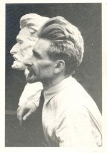 Radauš, Vanja (1906-1975) : Portret Slavka Jankovića