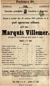 Marquis Villemer igrokaz u 4 čina / od George Sand