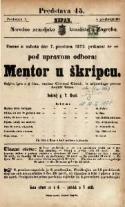 Mentor u škripcu šaljiva igra u 3 čina / napisao Giovanni Giraud