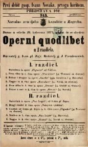 Operni quodlibet : u 2 razdiela