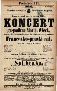 Francezko-pruski rat Šaljiva igra u 1 radnji / od K. Trifkovića