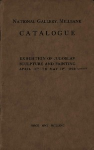 Exhibition of Jugoslav Sculpture and Painting