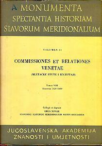Sv. 8 : Od 1620. do 1680. godine = T. 8. : Annorum 1620 - 1680 : Monumenta spectantia historiam Slavorum meridionalium