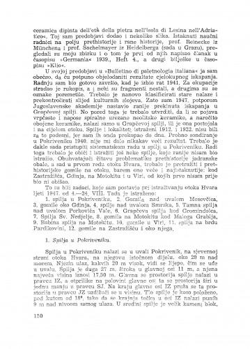 Izvještaj o prethistorijskim istraživanjima otoka Hvara : (4.-24. VIII. 1947.) / G. Novak