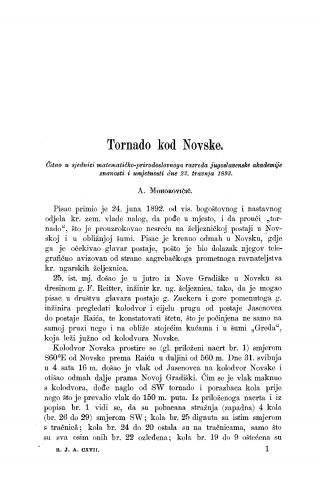 Tornado kod Novske