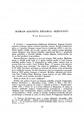 Roman Augusta Cesarca