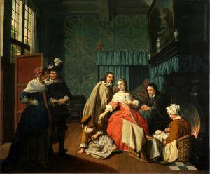 Posjeta porodilji
