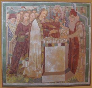 Prikazanje u Hramu Vincent iz Kastva