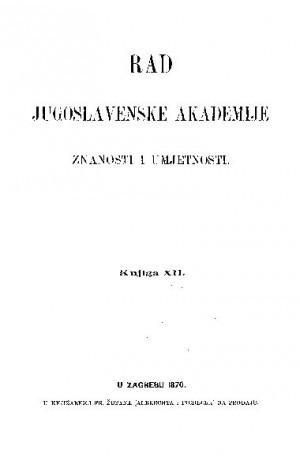 Knj. 12(1870) : RAD